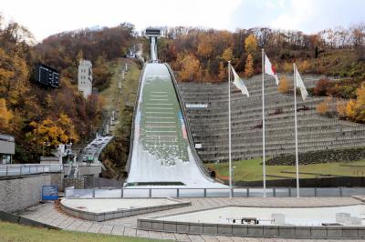 GOTOトラベル北海道の旅・・札幌オリンピックミュージアム(大倉山ジャンプ競技場)を訪ねます。