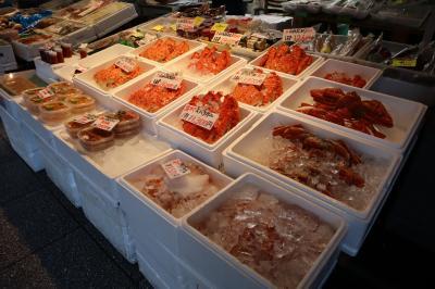 GOTOトラベル北海道の旅・・札幌の二条市場と大通公園を散策します。