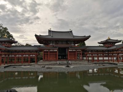 紅葉には少し早い京都散策 その1 平等院・東寺