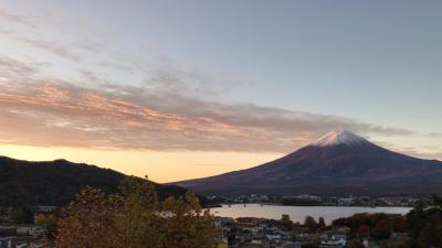 Go To トラベル 河口湖 富士に3日の晴れなし(3/3)