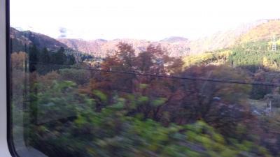会津若松-磐梯山の頭の雪、芦ノ牧南の紅葉、雲海、霧、会津の霧、弥彦