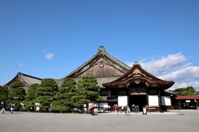 秋の京都・奈良散策①【西本願寺・二条城】