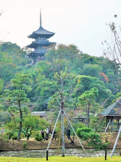 横浜13 三溪園a  国指定名勝 日本庭園-17.5haの敷地  ☆伝統的建造物-17棟を配置