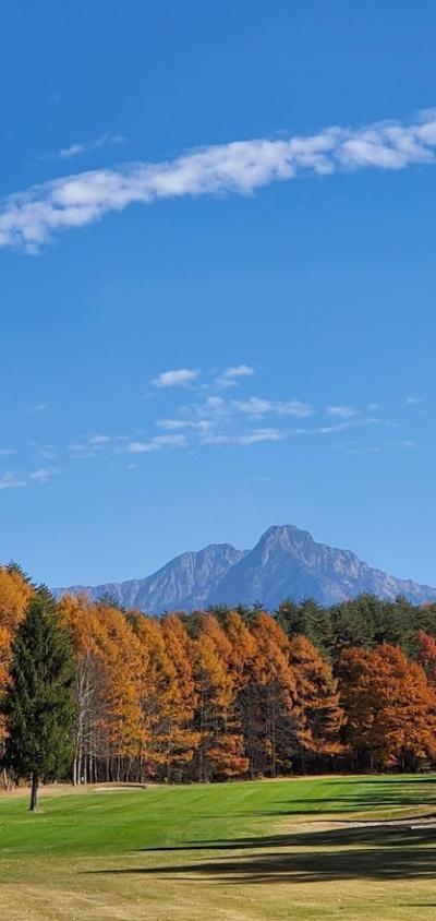 蓼科、紅葉を楽しむゴルフ旅☆