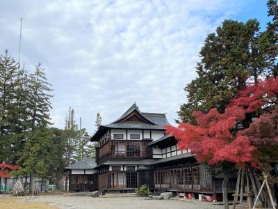 2020秋の東北16:東北旅行最終地の米沢 上杉伯爵邸