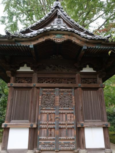 横浜18 三溪園f 内苑 繊細なつくりの庭 ☆旧天瑞寺寿塔覆堂・重要文化財の建物ずらり
