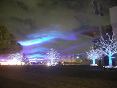 品川散歩と大井競馬場 TOKYO MEGA ILLUMINATION
