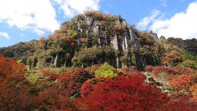 耶馬渓の紅葉を見に行きました
