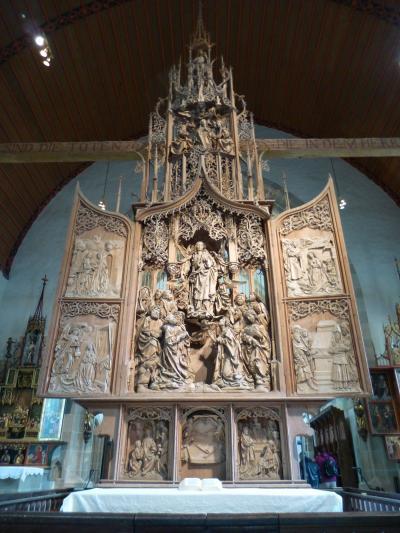 ドイツ2012年・麗しの5月:天才リーメンシュナイダーの傑作、聖母マリア昇天の祭壇を再訪した。