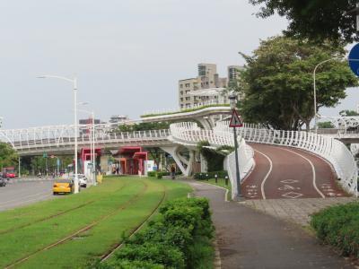 西臨港線自行車道をポタリング 高雄 2020/11/12
