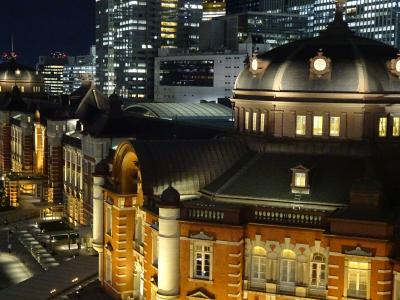 東京の2大レトロ駅舎の夜景撮ってみた