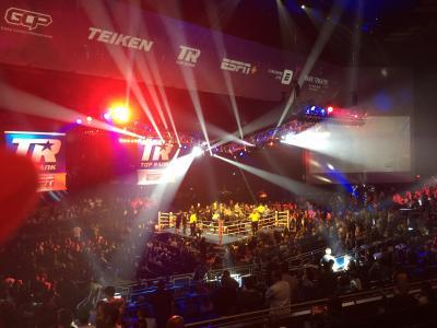 ネバダ州 ラスベガス ー 村田vsブラント(WBA世界ミドル級タイトルマッチ)を観戦