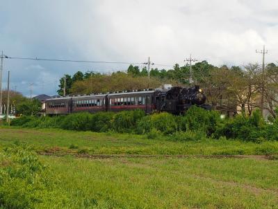 真岡に出かけたので真岡鉄道のSLを見てきました