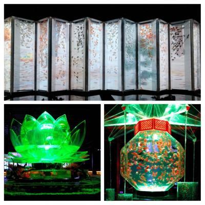 京都国立博物館[皇室の名宝]~元離宮二条城[アートアクアリウ厶城京都金魚の舞]を楽しむ