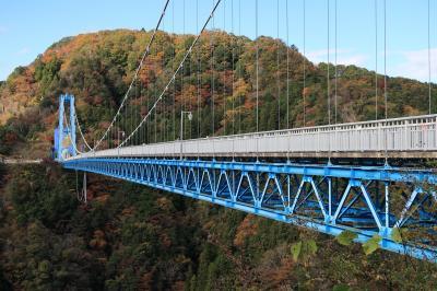 竜神大吊橋#2(茨城県常陸太田市)へ・・・