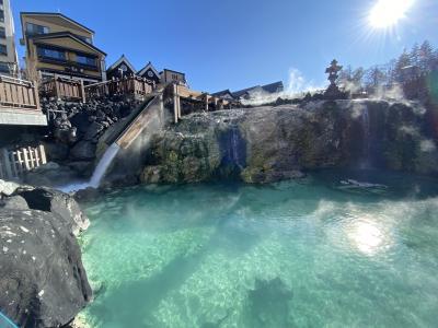 GOTOトラベルではないけど、日帰りで草津温泉に行って来ました!やはり草津は泉質がいいです!