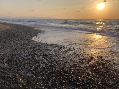 2020年晩秋の津軽半島西海岸をめぐるドライブ旅行(1)仙台から津軽半島の七里長浜へ