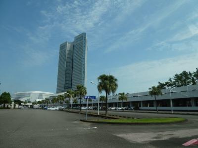 台風接近の鹿児島・宮崎へ。羽田前泊と1日目。鹿児島空港からシーガイアへ。