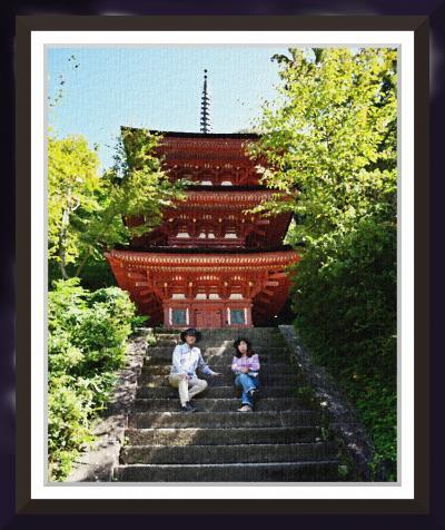 岩船寺から浄瑠璃寺へ石仏を訪ねて。