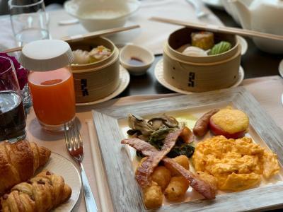 #3 クラブラウンジで朝食・ストリングスホテル東京インターコンチネンタルのクラブフロアにお泊まり♪