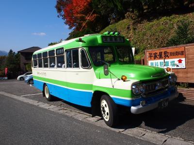 二転三転した夫婦旅行は四国になりました (2日目 レトロなボンネットバスに揺られ祖谷を目指します)