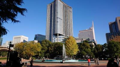 日比谷公園、皇居外苑、丸ビル辺りを散策。