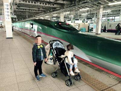 202011 5歳・1歳連れ仙台はやぶさアンパンマンの旅