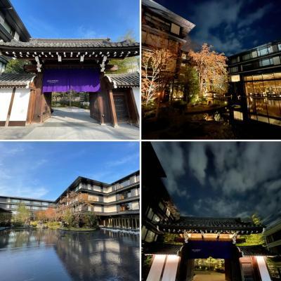 HOTEL THE MITSUI KYOTO♪出来立てホヤホヤ、けれど歴史の詰まったホテル