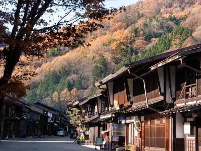 秋深い奈良井宿を訪ねる