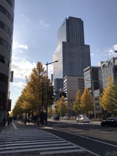 仙台ー故郷の紅葉は、いかに?