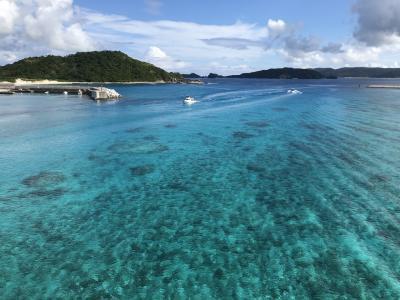 2020 秋の阿嘉島 レンタサイクル2時間でアイランドホッピング