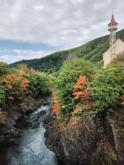 秋色探しの1泊2日バスツアー④《滝上渓谷 錦仙峡(きんせんきょう》