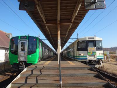 祝!全線復旧。何度でも立ち上がれ「あぶQ」 阿武隈急行に乗って来た。