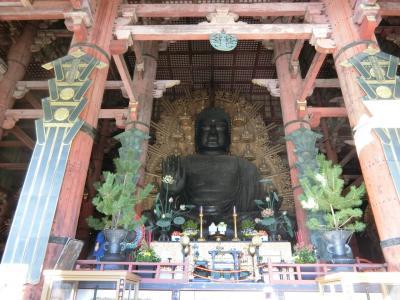 マイカーとレンタサイクルで週末trip✩古都奈良の旅✩1日目