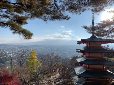 富士山が見えるスポットを巡りながら①忍野八海 新倉山浅間公園