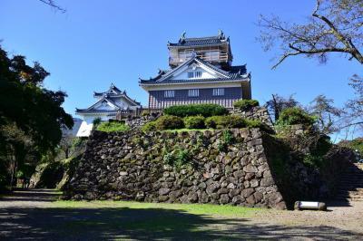 with corona de 越前大野城へ
