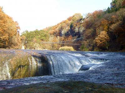 吹割の滝・・またちょっと秋を楽しみにお出かけ♪