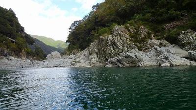 四万十川遊覧と、新足摺海洋館(SATOUMI)の見学等 初日04。大歩危峡遊覧と昼食 上巻。