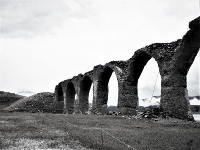 道東・廃線跡をゆく、3 タウシュベツ川橋梁へ