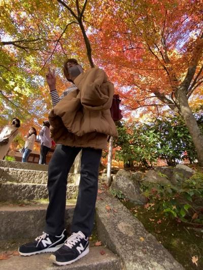 2020.11嵯峨野トロッコから京都嵐山で紅葉を愛でるか