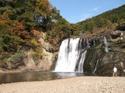 栃木県 松島温泉湯治の旅② 紅葉に囲まれ龍門の滝