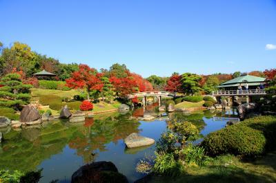 大仙公園内の日本庭園