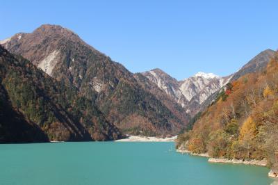 高瀬渓谷の紅葉を見にいってみました