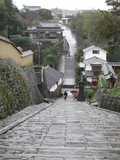 雨の1日、城下町杵築散策、宇佐神宮お参りを経て福岡へ。(おまけの福岡オフ会)