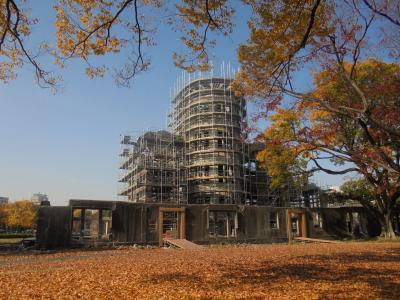 秋の広島路-3 原爆ドーム レストハウス