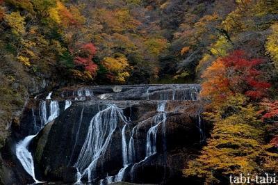 晩秋の Go To 袋田の滝