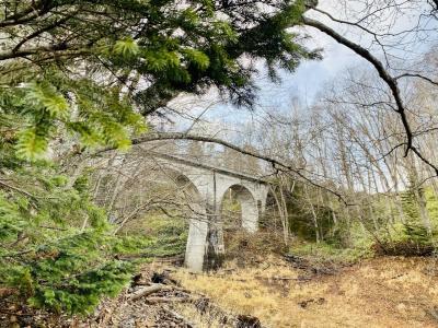 アーチ橋を訪ねて三千里 オープンしたての道の駅かみしほろでランチ ひがし大雪アーチ橋