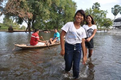 2011年のタイ洪水被害(バンコク・アユタヤ)
