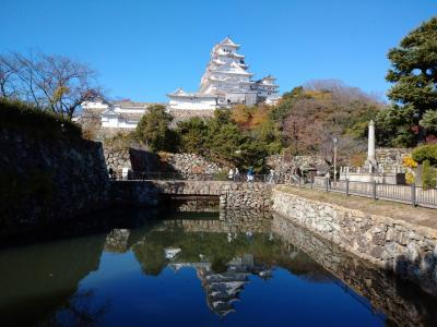 2020年11月兵庫県の三名城巡り(竹田城・姫路城・明石城)1泊2日