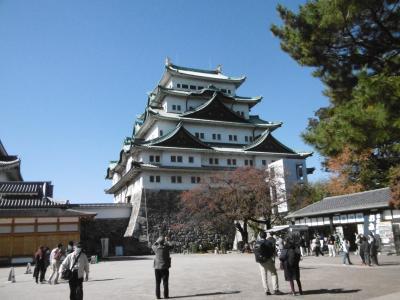 名古屋城に初めて行きました